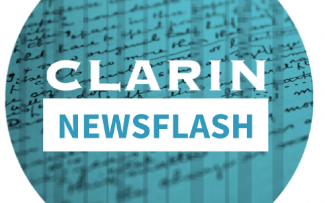 CLARIN Newsflash logo