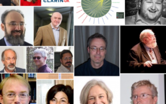 Collage of CLARIN UK consortium people
