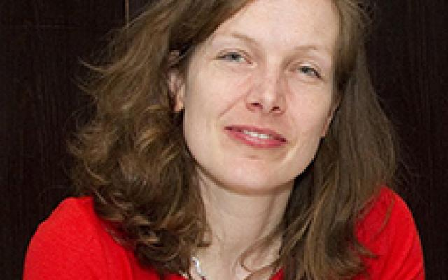 Photograph of Professor Michaela Mahlberg