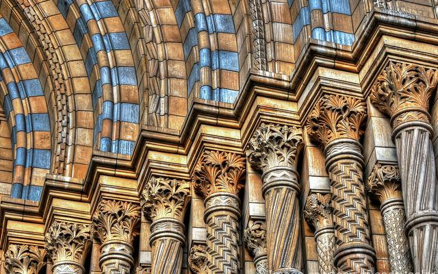 Natural History Museum brickwork