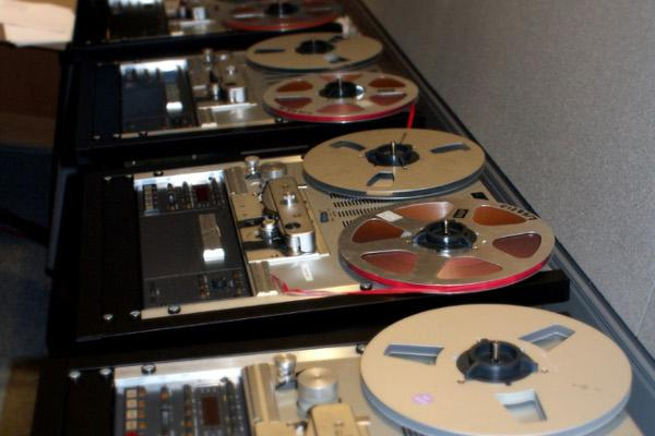 British Library Sound Archive Tapes