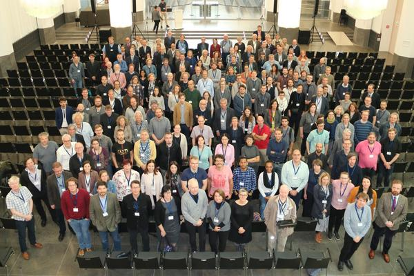 Photo of participants at a CLARIN conference