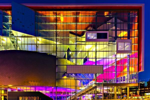 Photo of the TivoliVredenburg building, the conference venue